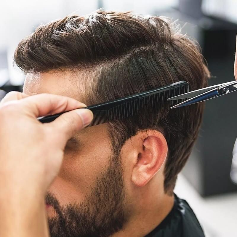 Men barbering + Men hair style